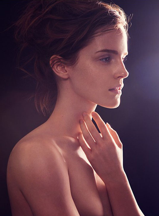 EMMA WATSON in Natural Beauty Book 2013