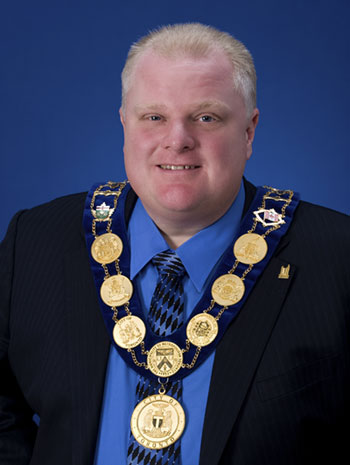 Toronto Mayor Rob Ford